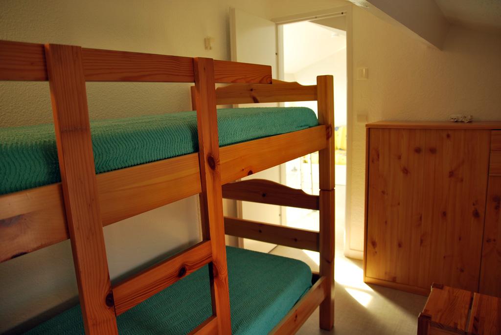 Chambre 1° étage. lits superposé
